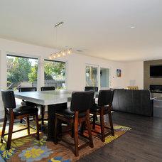 Modern Living Room by Kerrie L. Kelly