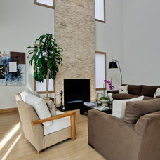 Contemporary Living Room by DFW Improved