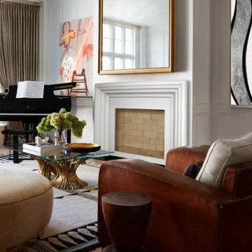 Modern  Delano Fireplace Mantel Styles