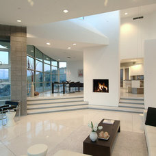 Contemporary Living Room by Soloway Designs Inc | Architecture + Interiors