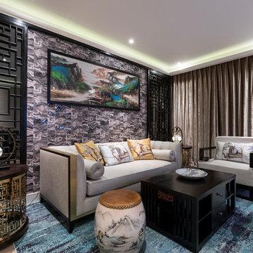 Modern Development Hammersmith- oriental style