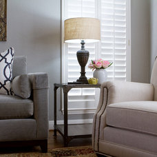 traditional living room by Darbyshire Designs