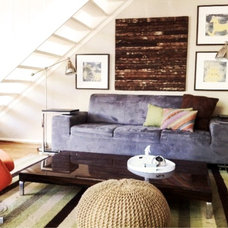 Eclectic Living Room by Katya Popova