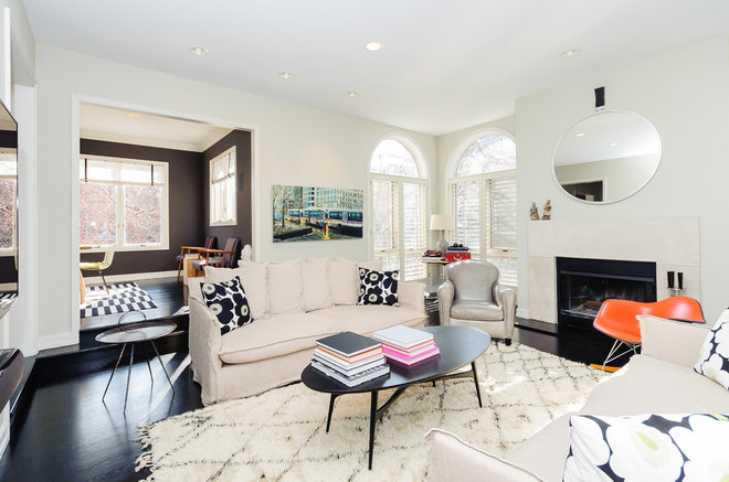 contemporary living room by Jessica Turf Design