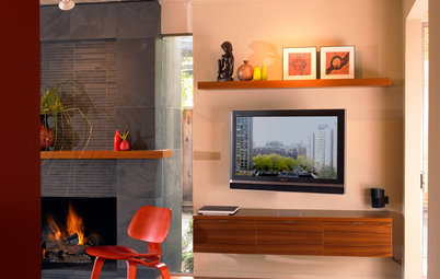 Decorate With Intention: Helping Your TV Blend In