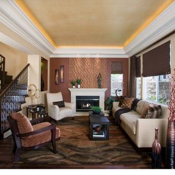 Modern Elegance Contemporary Living Room - San Clemente
