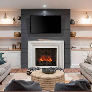 Modern Ellie Fireplace Mantel Styles