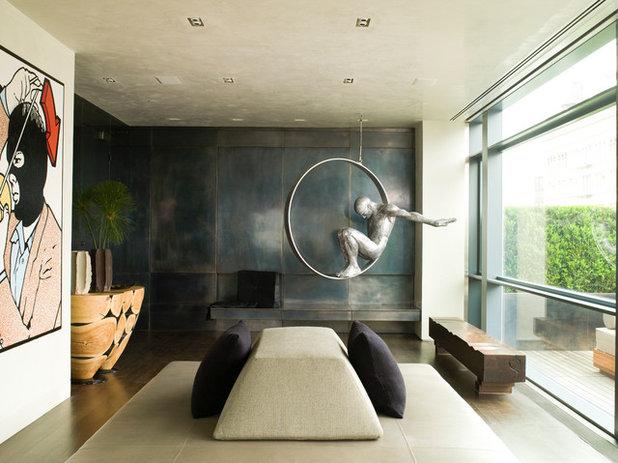 Contemporain Salon Modern Entry