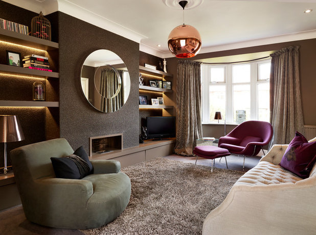 Contemporary Living Room by Websters Interiors