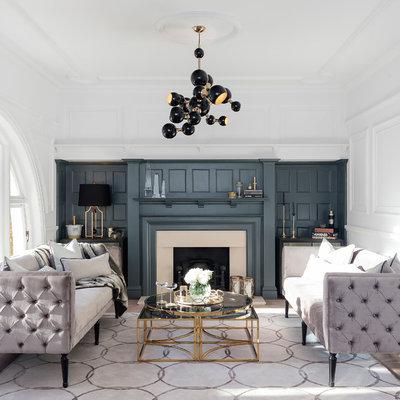 Minimalist living room photo in Dorset