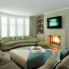 Contemporary Living Room by Coddington Design