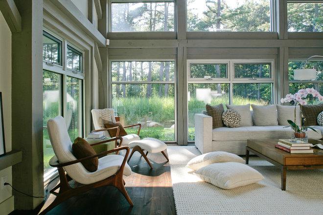 Farmhouse Living Room by Betty Wasserman