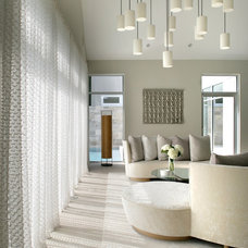 Contemporary Living Room by Bruce D. Nagel Architect