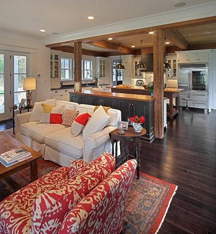 Traditional Living Room by KDW Home/Kitchen Designworks