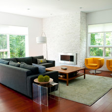 Contemporary Living Room by lee CALISTI architecture+design