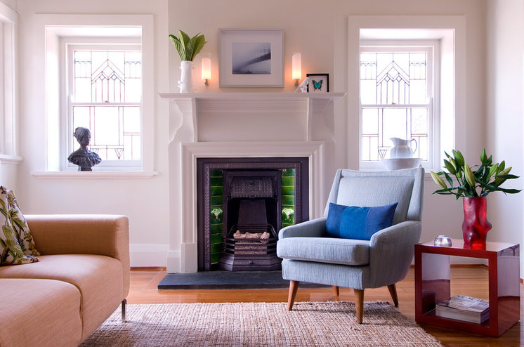 Victorian Living Room by Brett Mickan Interior Design