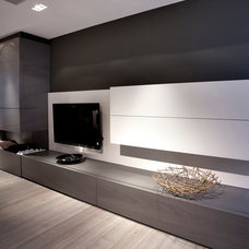 Modern Living Room by Holland Marble Imports