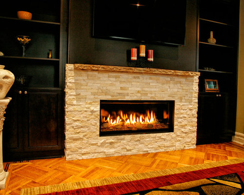 Modern fireplace in a brooklyn brownstone for Living room brooklyn 86 st