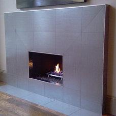 Modern Living Room by Kasper Custom Remodeling, LLC