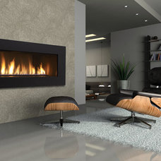 Contemporary Living Room by Dreifuss Fireplaces