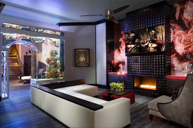 Contemporary Living Room by Design Studio 15