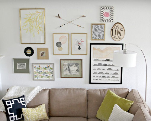 Eclectic Wall Decor Houzz