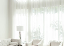 Fabric for drapes
