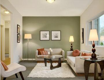 Modern Green Seattle Remodel
