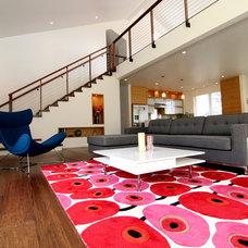 Modern Living Room by Wildco Construction Inc