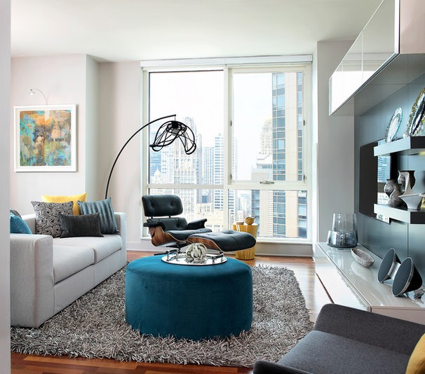Modern Living Room by Mia Rao Design
