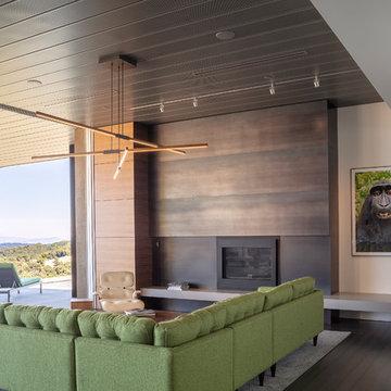 Modern Home, Geyserville,CA
