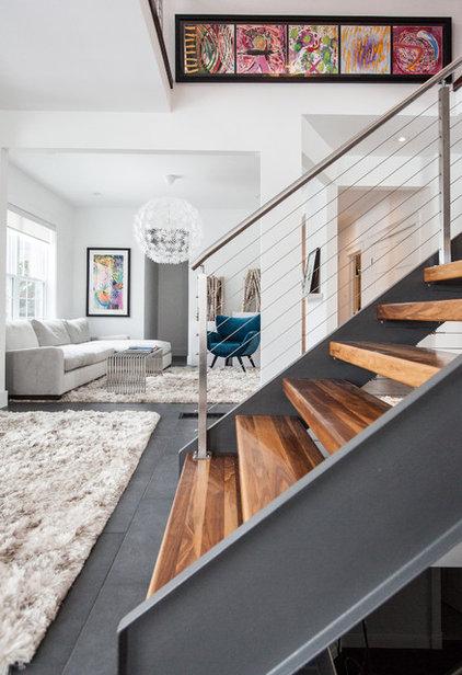 Contemporary Living Room by Becki Peckham