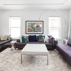 Contemporary Living Room by Becki Peckham