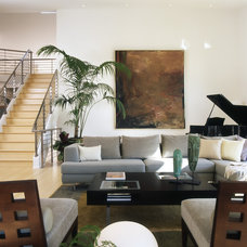 Modern Living Room by Pamela Pennington Studios