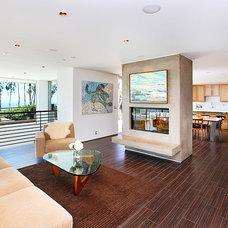 Modern Living Room by J. Kramer Corp.