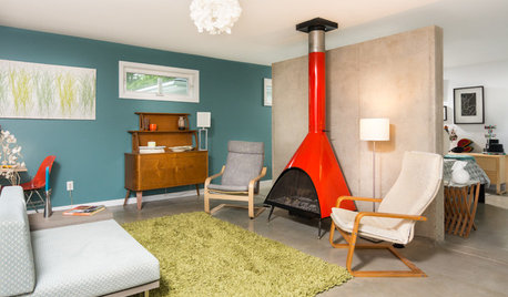 Addition Gives Michigan Couple a Midcentury-Style Retreat