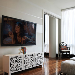 modern living room by Stephanie Sabbe