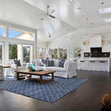 Transitional Living Room by Platinum Designs, LLC - Ian G. Cairl, Designer