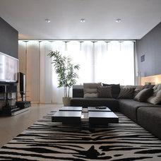 Contemporary Living Room by Design interior DI_DESIGN