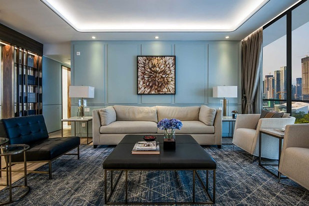 Contemporary Living Room by ILA.CO