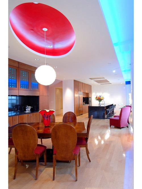 Billeder og indretningsidéer til hoosier moderne stue