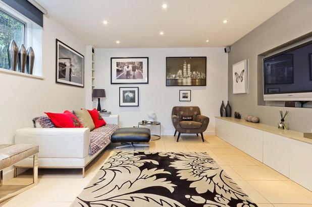 Contemporary Living Room by Neil Mac Photo