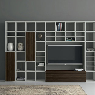 Modern Italian wardrobs, walk-in closets, libraries & wall units.