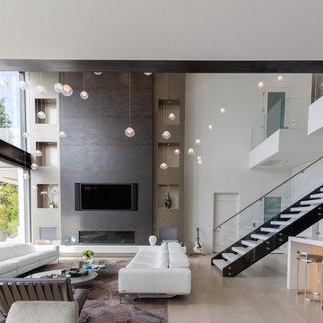 Modern Lake Washington Home