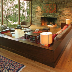 contemporary living room by Hull Historical