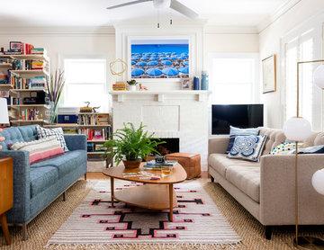 Modern Living in Vintage Home