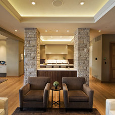 Modern Living Room by Splittgerber Professional Builders