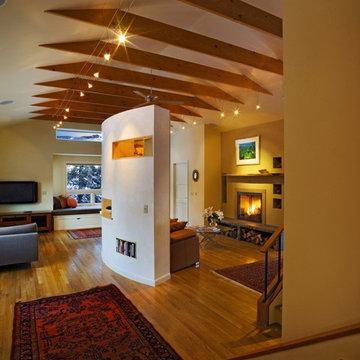 Modern Living Room Addition