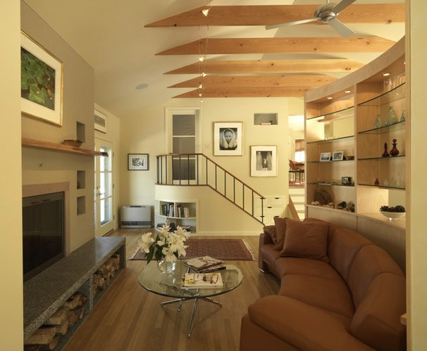 Modern Living Room by Peregrine Design Build