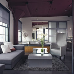 modern living room by Applegate Tran Interiors